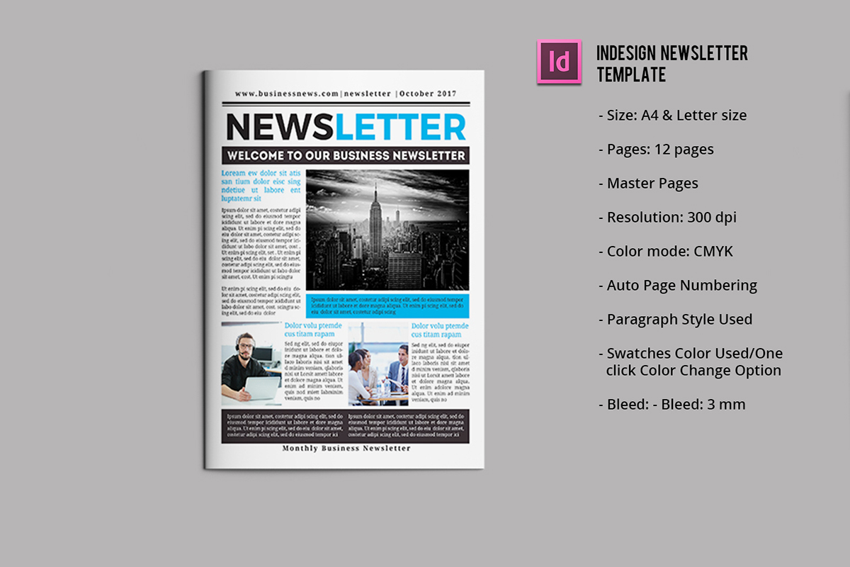 Newsletter Template On Wacom Gallery
