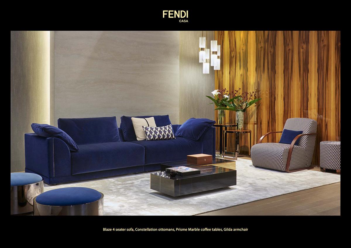 Constellation Ottomans For Fendi Casa Www