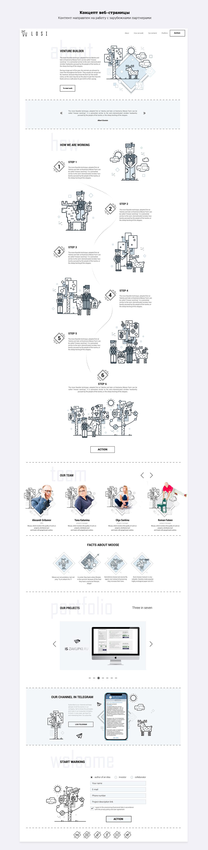 animation  concept design Startup team