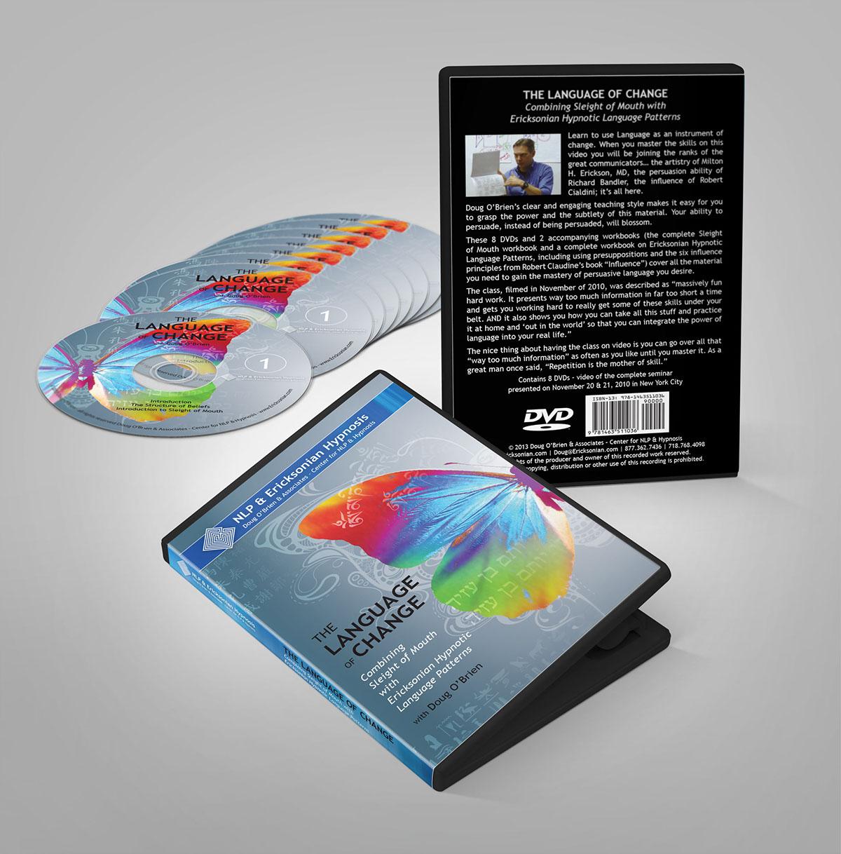 DVDs cds package design