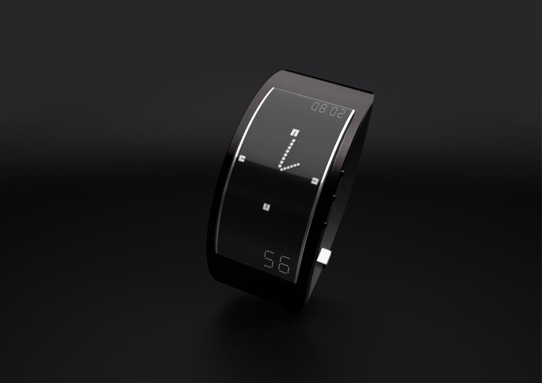 watch design product design  industrial design  jewel ePaper leather aluminium