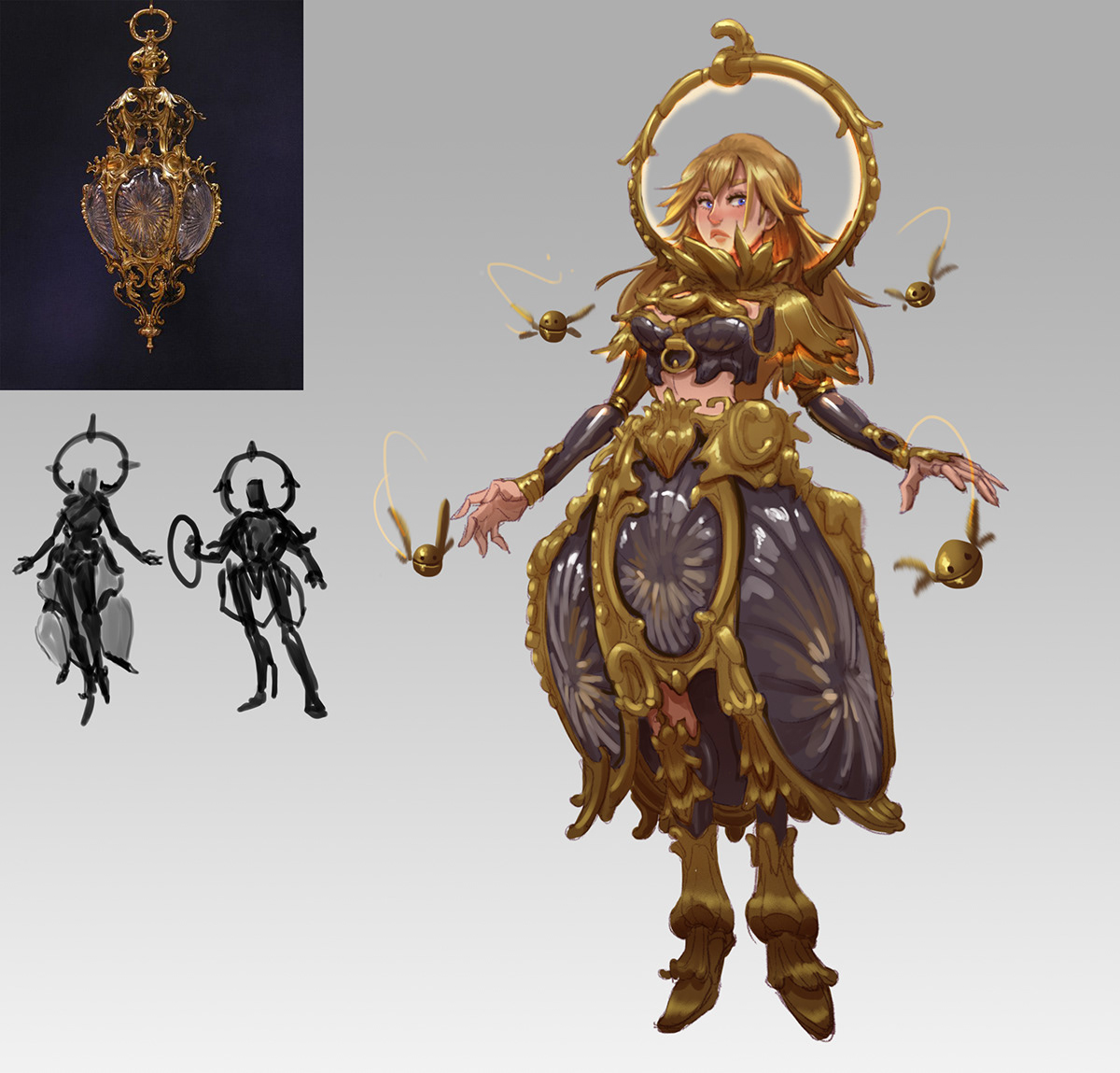 Character concept demo design studies Stylize