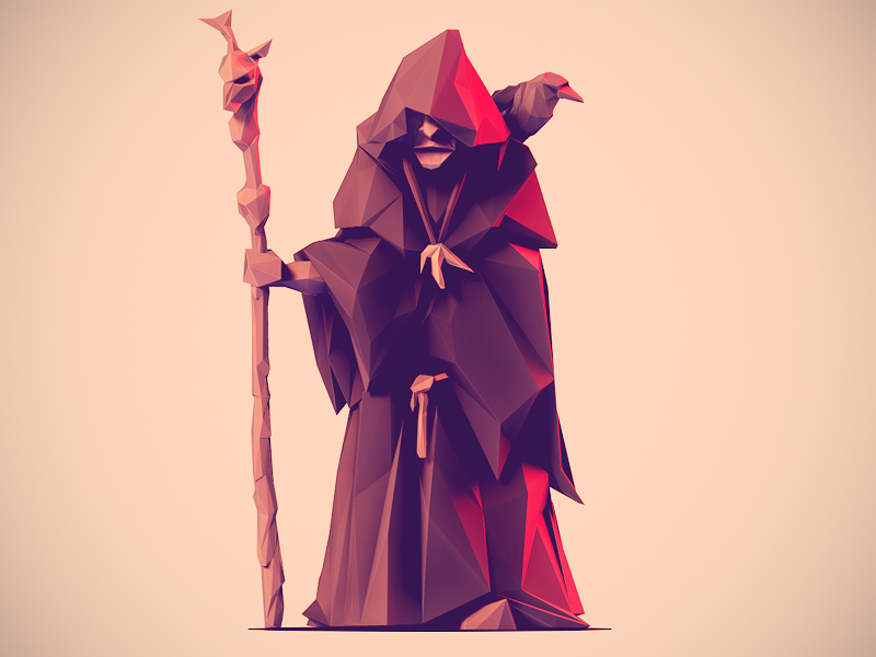 Character Design Artist Resource : Low poly characters on behance