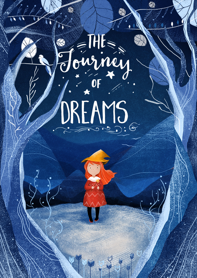Children S Book Cover Art For Sale ~ Quot the journey of dream book cover on behance