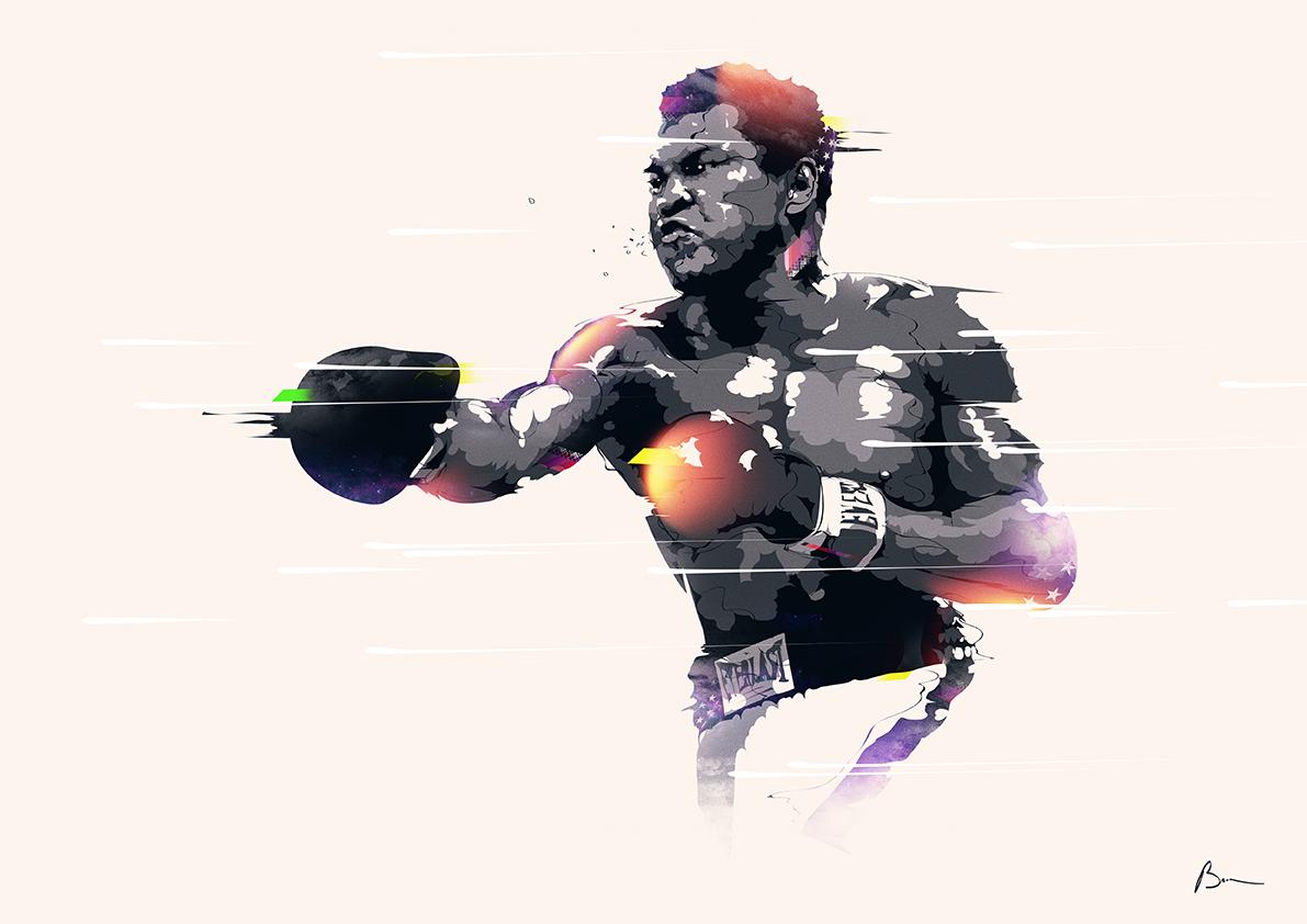 bo jackson Serena Williams michael johnson Michael Jordan muhammad ali Boxing sports baseball nfl nbl NBA basket legend history Ps25Under25