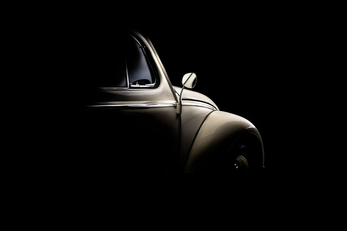Unique Volkswagen Beetle 1959 fine art photography on Behance NV01