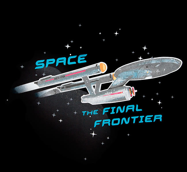space is the final frontier How can the answer be improved.