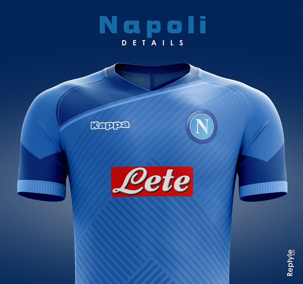 Napoli soccer kit concept on Behance 435cb01ab
