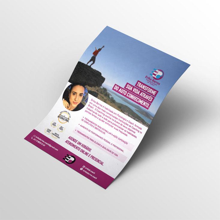 branding  Coach psicologo Flyer Digital cartão de visitas business card logo frames
