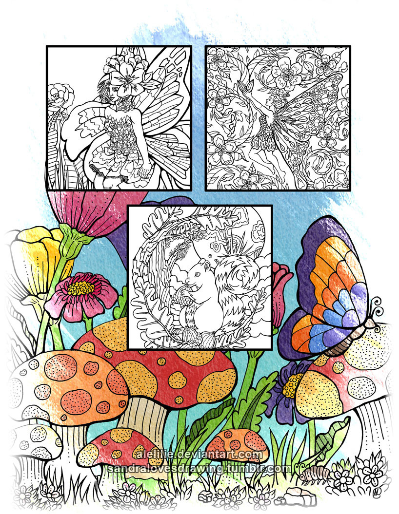 A fun magic coloring book amazon - Take A Break From Your Daily Routine And Spend Hours Of Relaxing Fun With Forest Of Dreams A Magical Coloring Book Now Available On Amazon