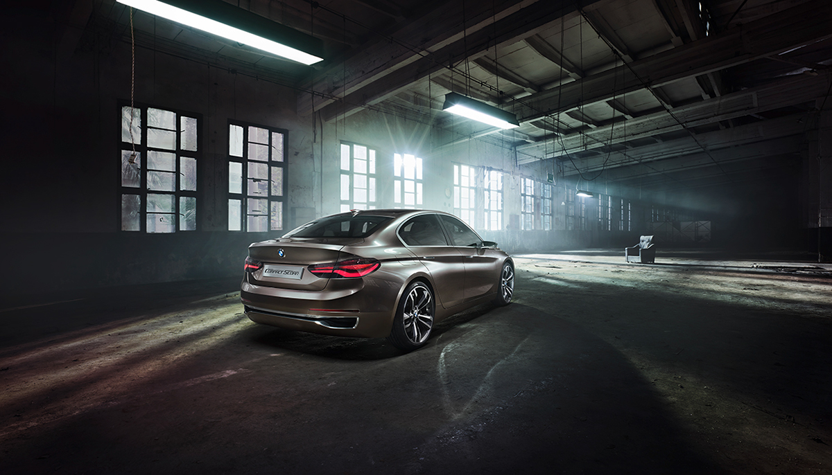 Concept Sedan Bmw On Behance