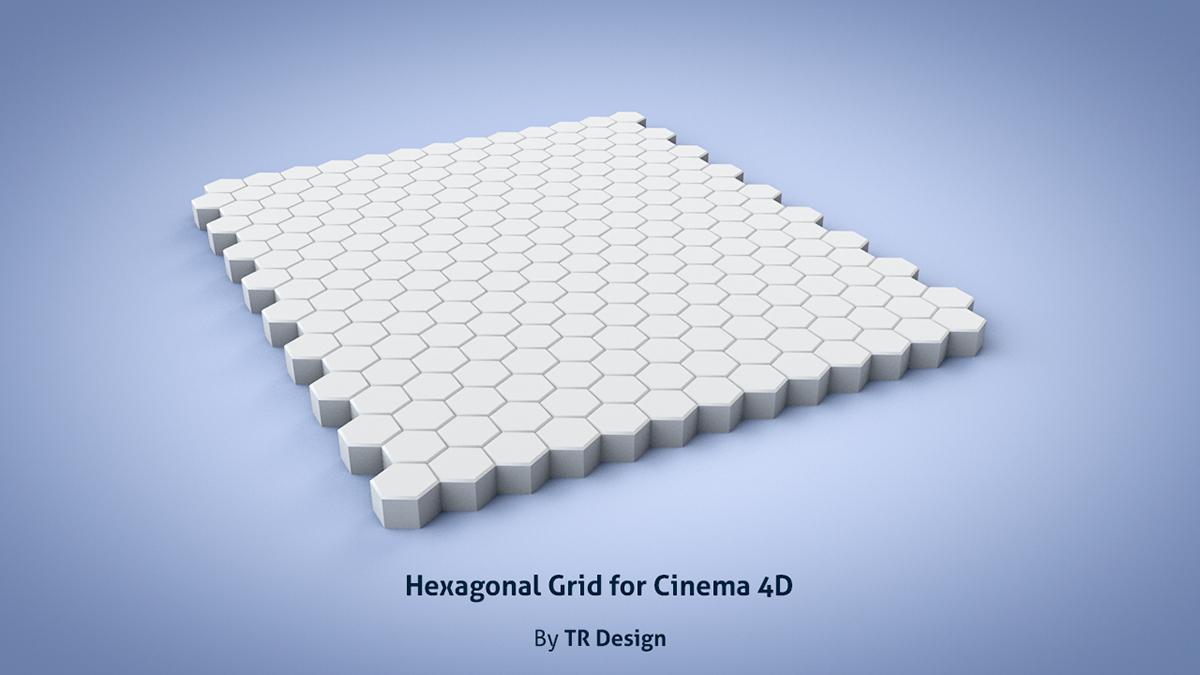 Free Hexagonal Grid for Cinema 4D on Behance