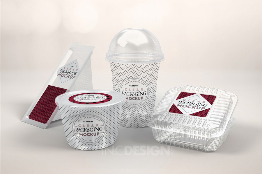 Free Clear Packaging Fast Food Mockup Sample On Behance