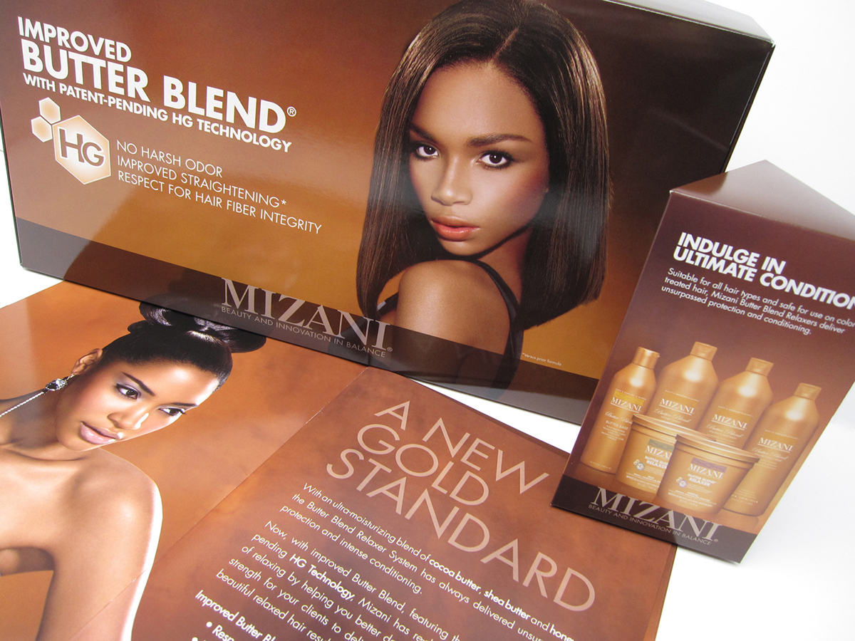 Mizani Launch Collateral On Behance