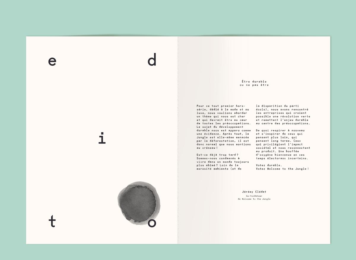font magazine type Violaine & Jeremy blue Elodie Lascar Sophie Lecuyer design graphic design  Guide