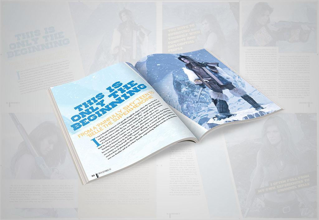 Photography  typography   art direction  print magazine