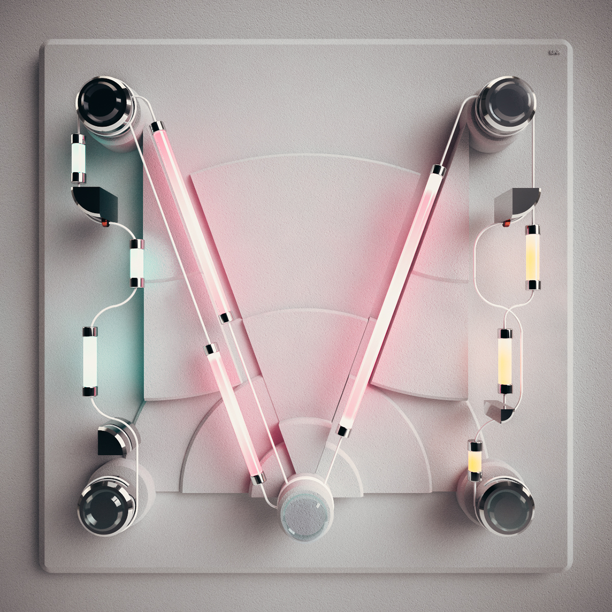 type,3DType,signs,neon,geometry,math,Trigonometry,36daysoftype,poster,frame,letter