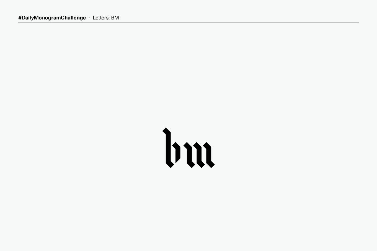 brand identity Logo Design monogram