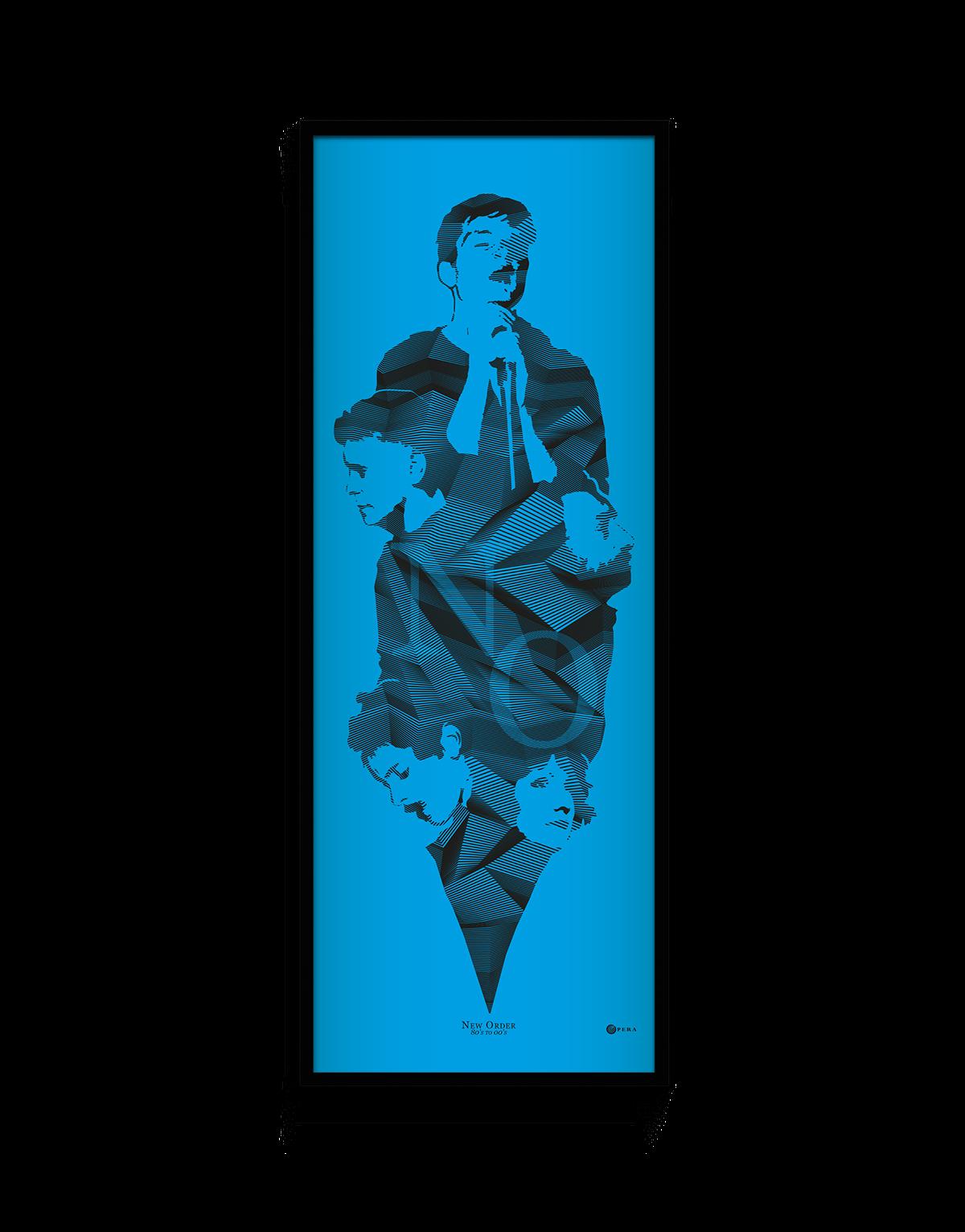 vinyle new order poster