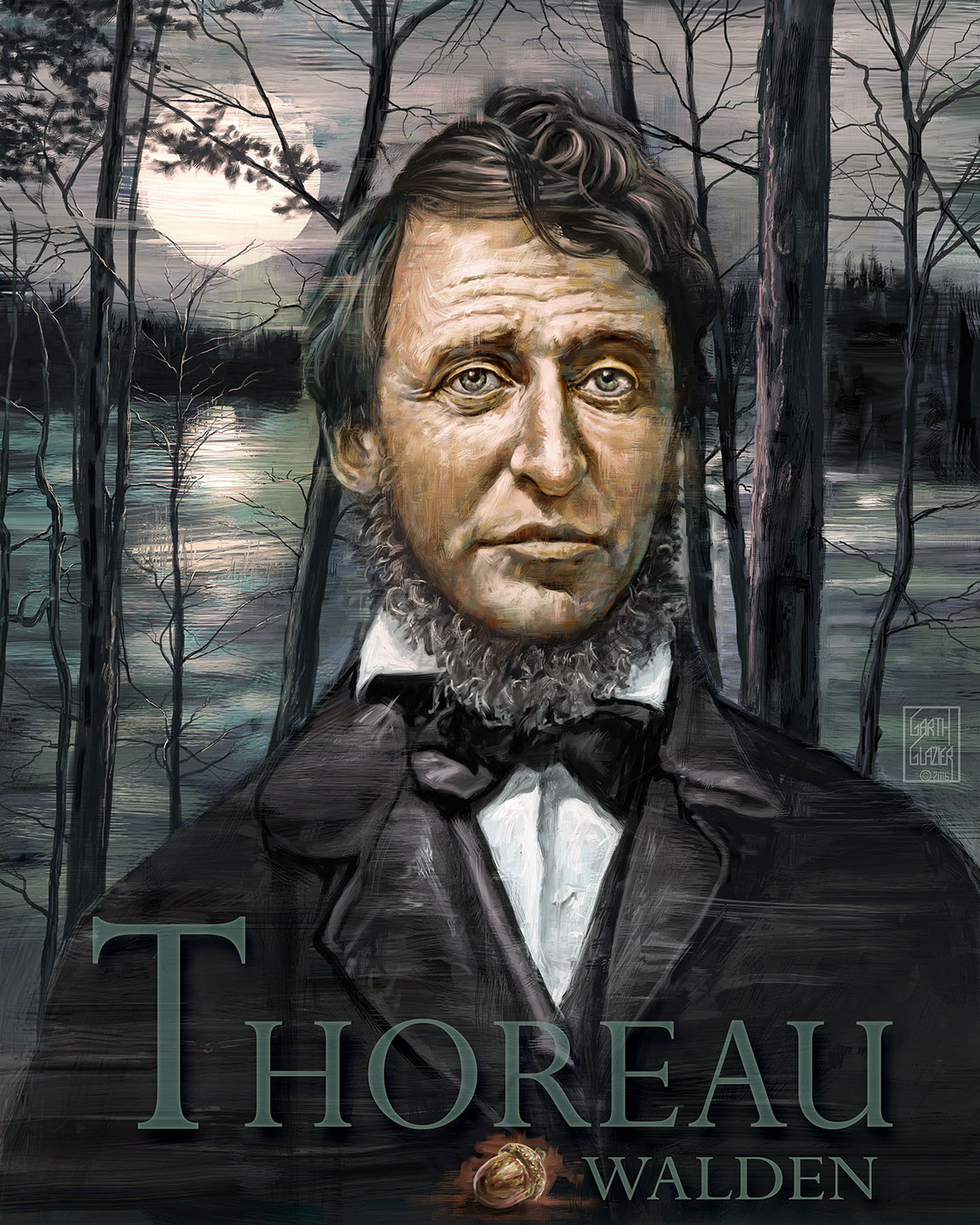 thoreau walden romanticism A brief introduction to romanticism emerson - self-reliance  at walden, thoreau reexamined the  w the writings of henry d thoreau walden edition, 1906.