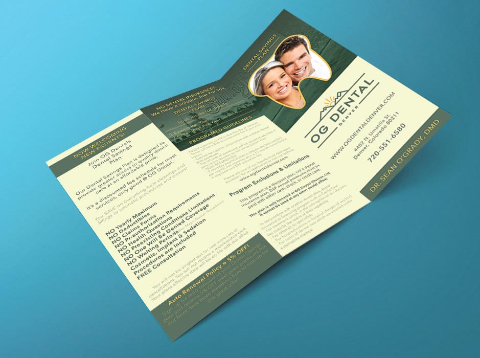 Dental Promotional Handouts on Behance