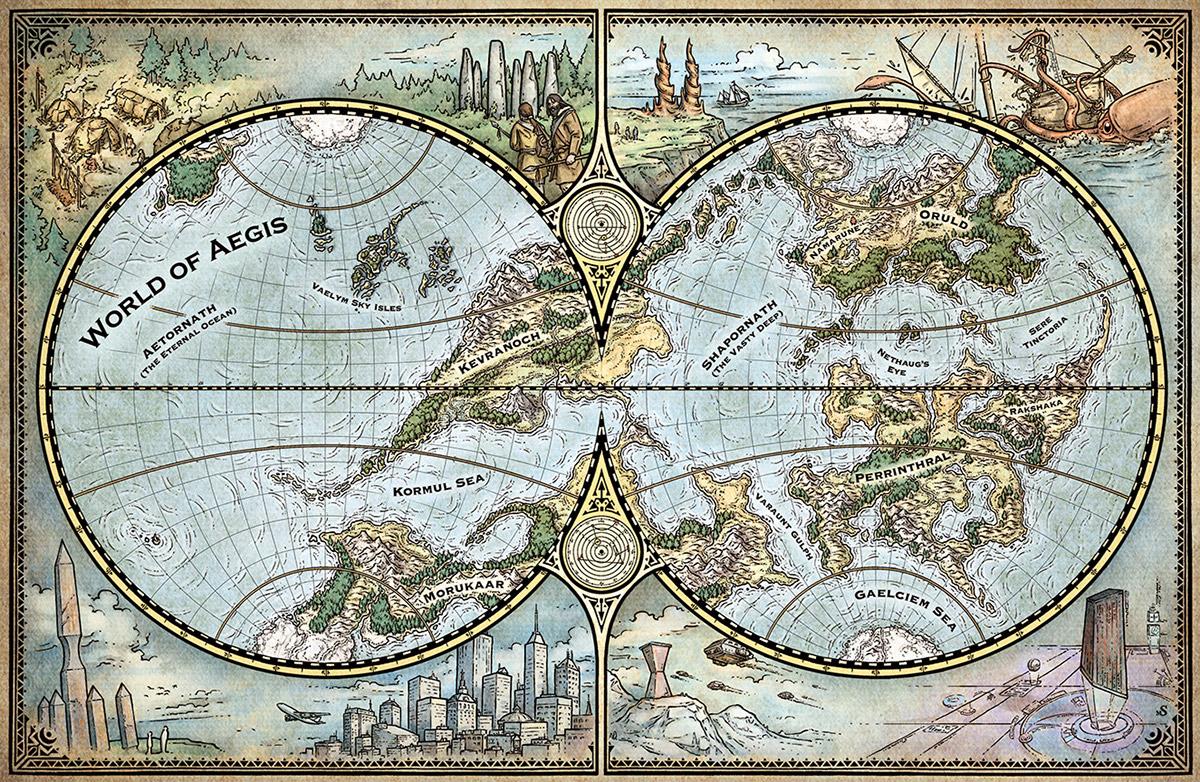 World & Regional Maps on Behance