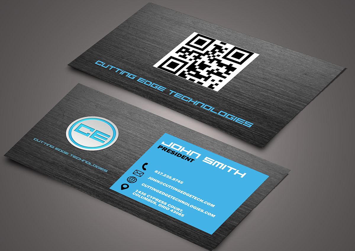 Cutting Edge Business Cards on Behance