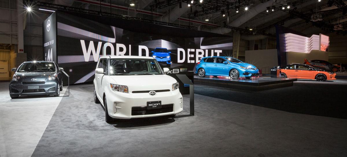 Scion NYIAS 2015 nyias FR-S im ia TC auto show nyc new york city New York