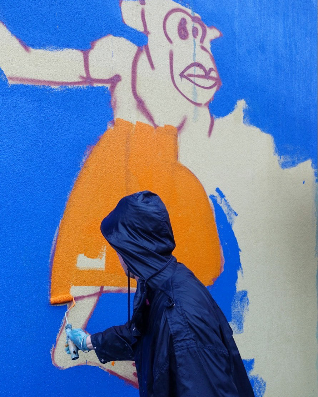 streetart Street-Art Street Art  Mural copenhagen denmark art Burlesque