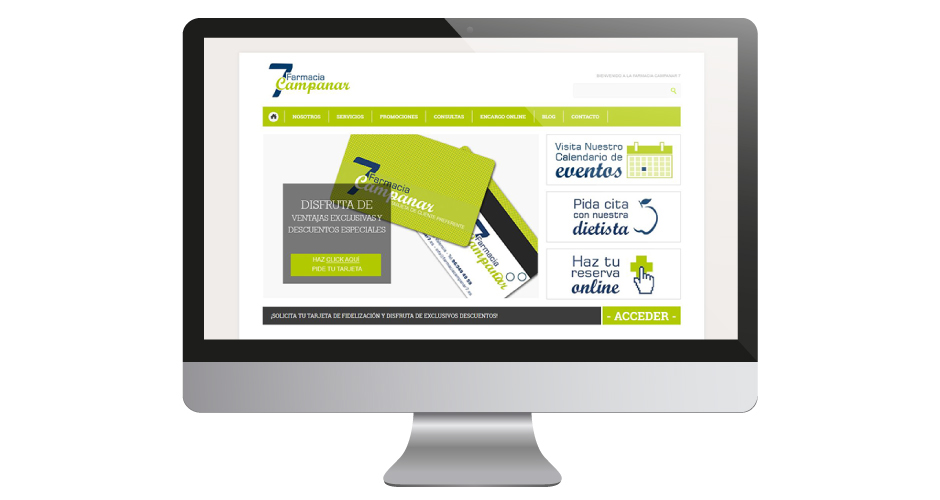 farmacia Diseño web pharmacy