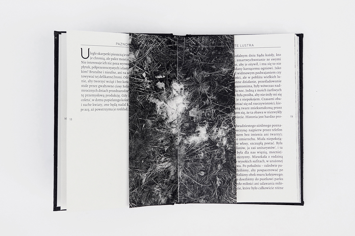 ground soil land land art Borges book design book literature hard cover cover black black and white symbol maker
