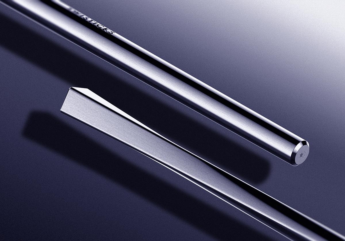 chopsticks Twist fusion tool steel