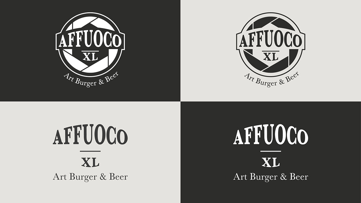 logo brand Logotype tshirt Stationery business card Italy pub Food  RESTYLING