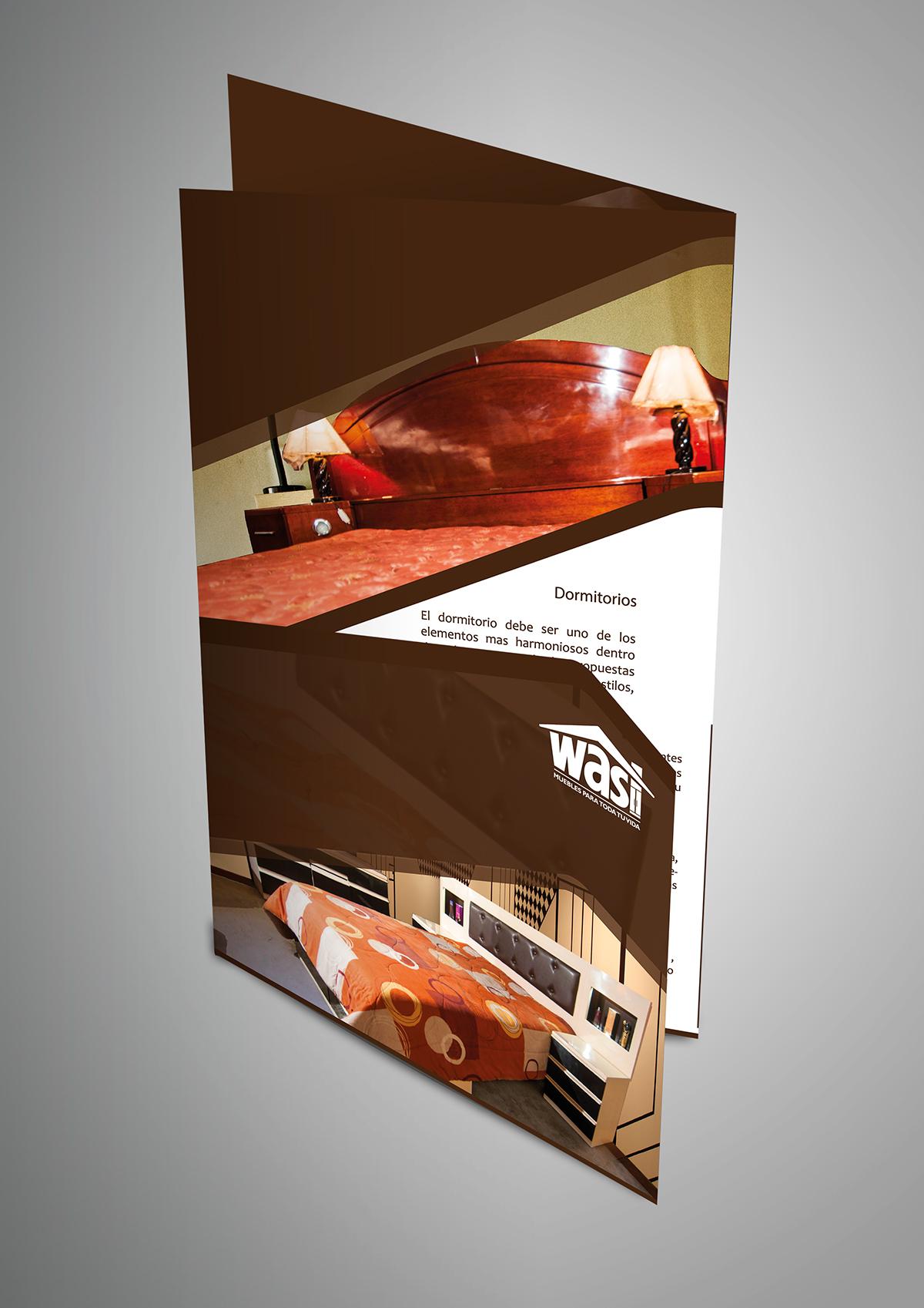 Brochure On Behance # Los Muebles Tes