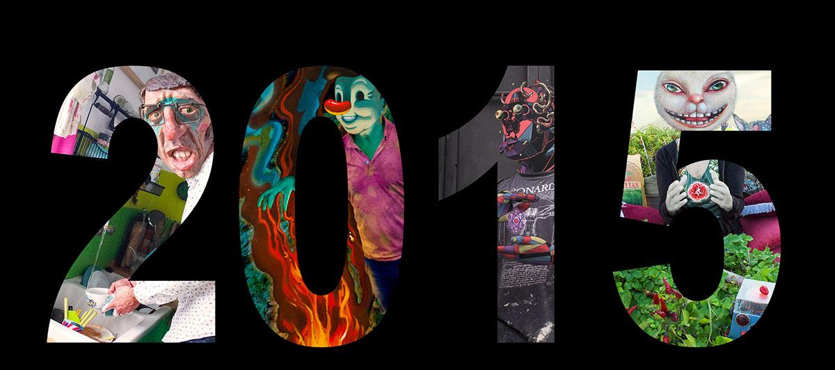 symbiosis year retrospective 2015 captured artists danjer seher smithe juanjo surace peça victor castillo maria elene stellato riccardo ruggiano ulderico di domenico eldmitry jean peut-être belin