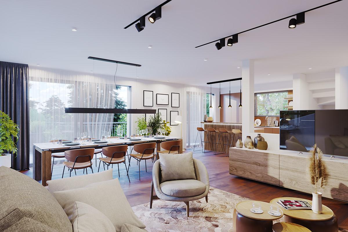 3D 3dsmax architecture archviz CGI corona interior design  Render visualization