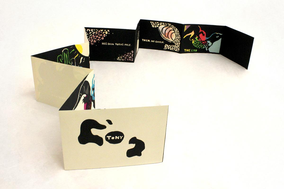 papercutout,paper,book,accordion,handmade,cutout,SAIC,art
