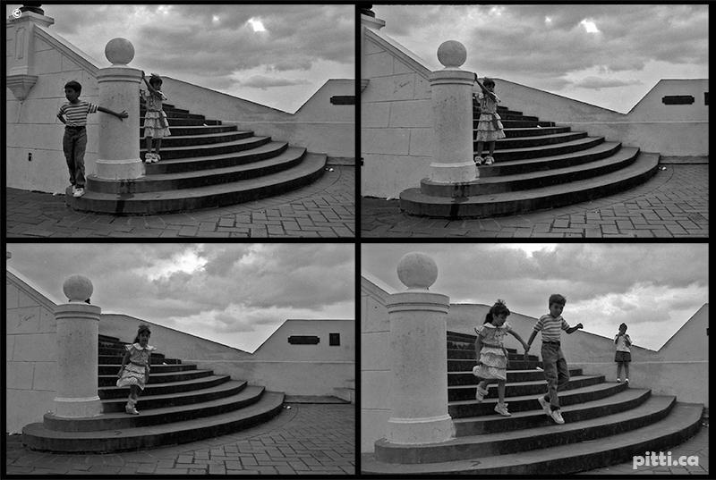 panama memories 1990's b&w Photography  Caribe panama canal TABOGA catedral