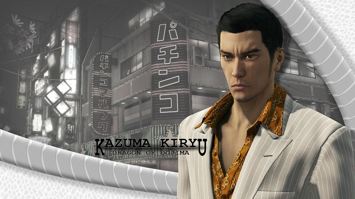 Yakuza 0 Kiryu Wallpaper On Behance