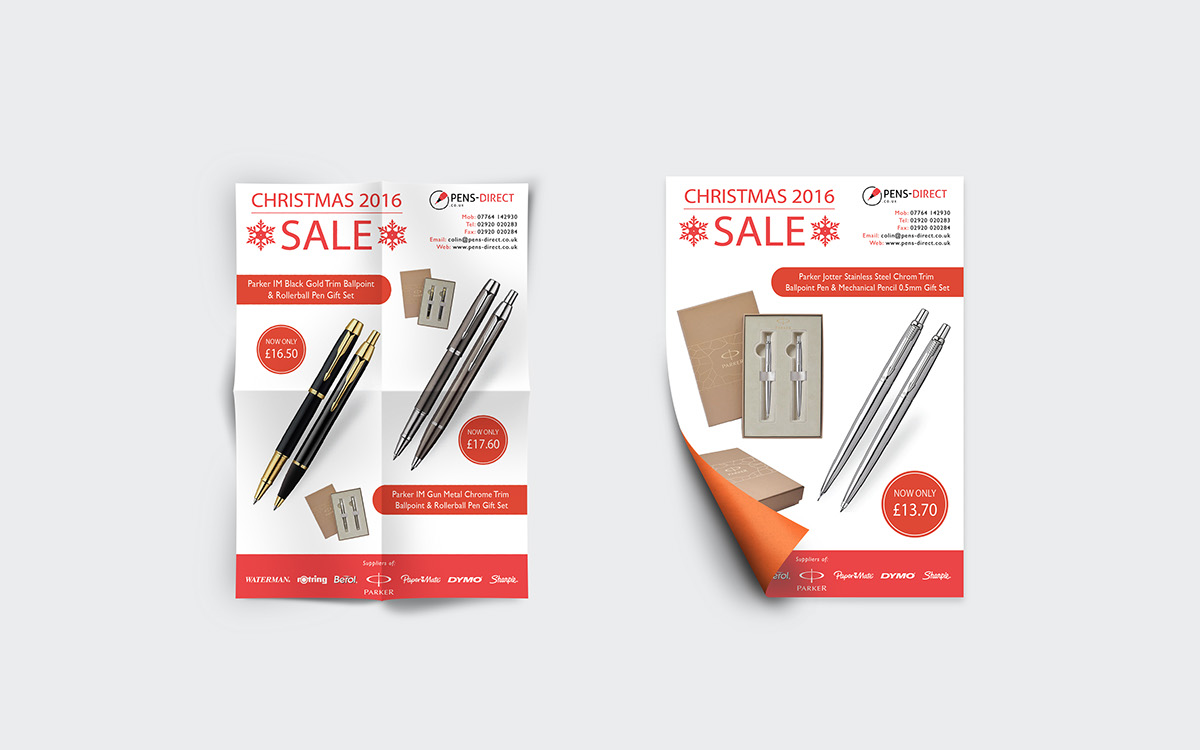 Pens Direct Ltd Promotional Marketing Materials On