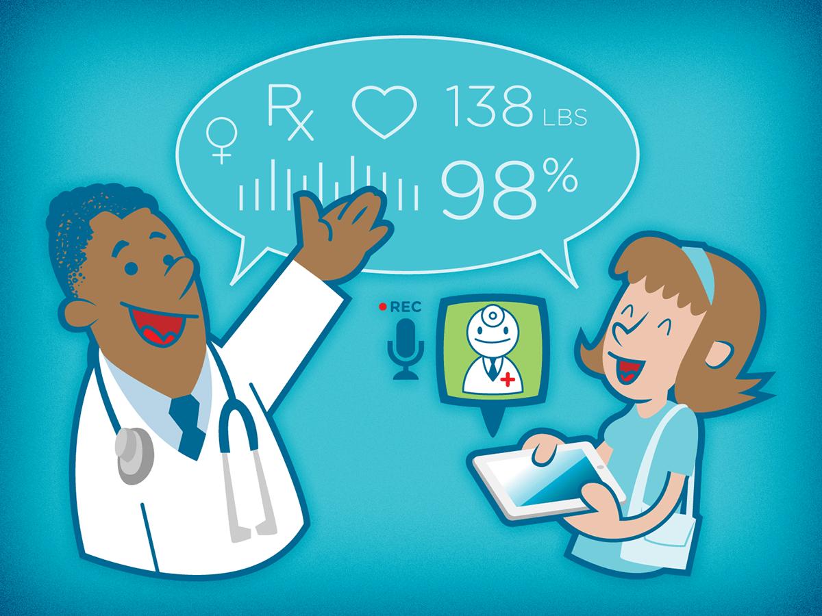 healthcare vector Character design