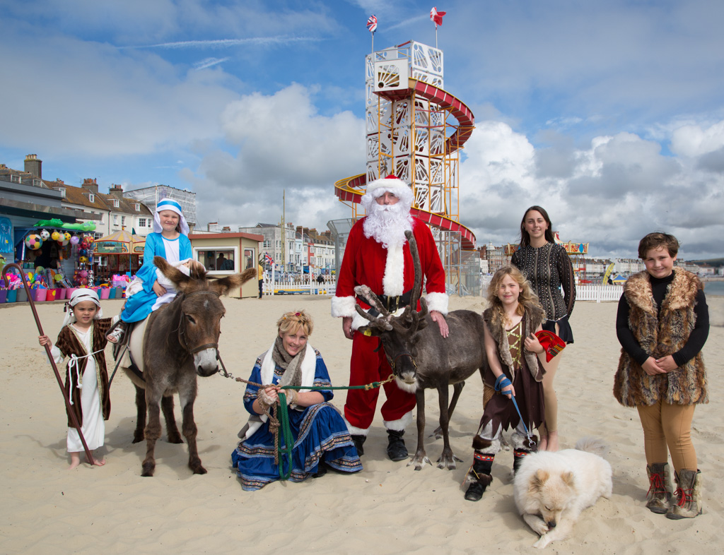 PR Image for Weymouth BID's Christmas launch