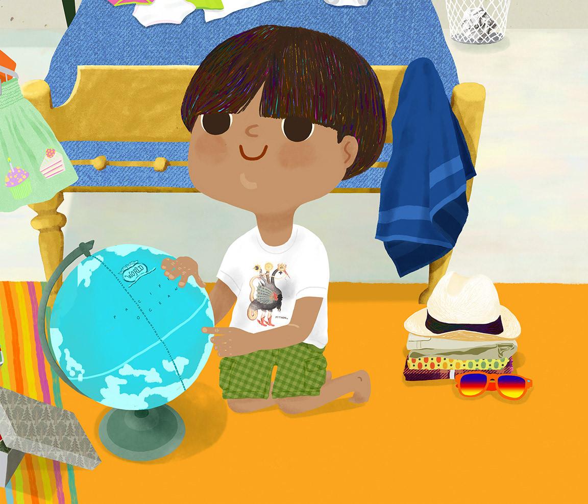 picturebook ILLUSTRATION  vacation childrensbook digital