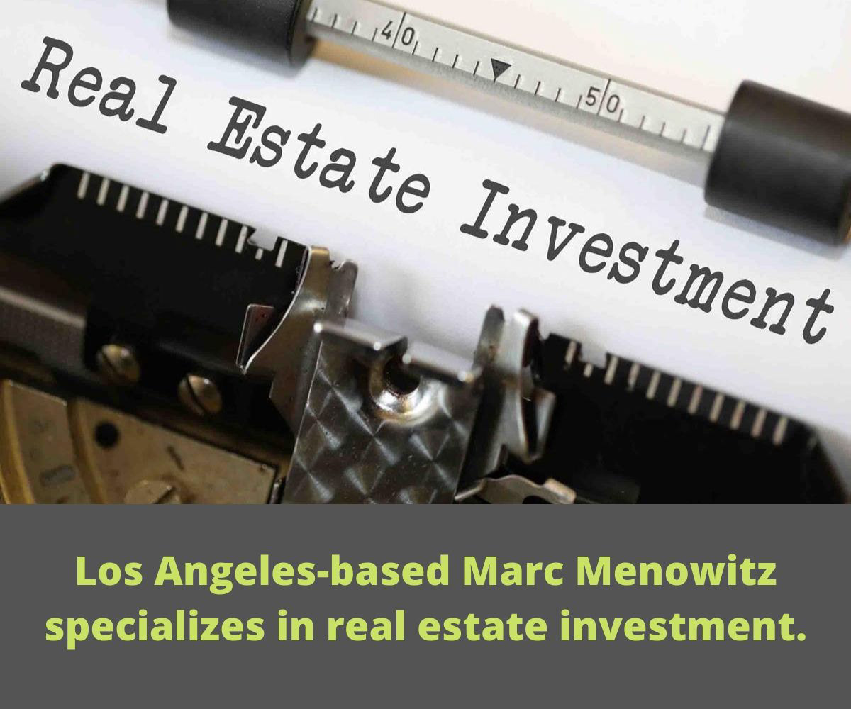 real estate Investment CEO marc menowitz