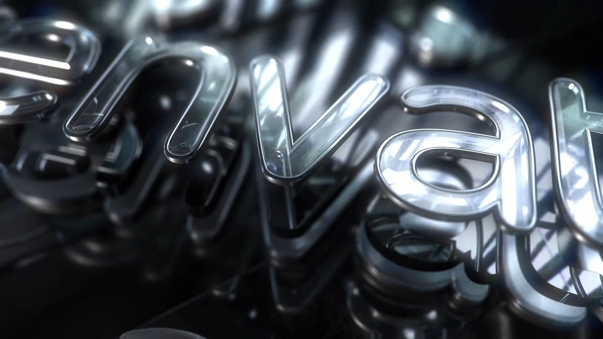 Glass Text and Logo Reveal (AE/Element 3D v2 template) on Behance