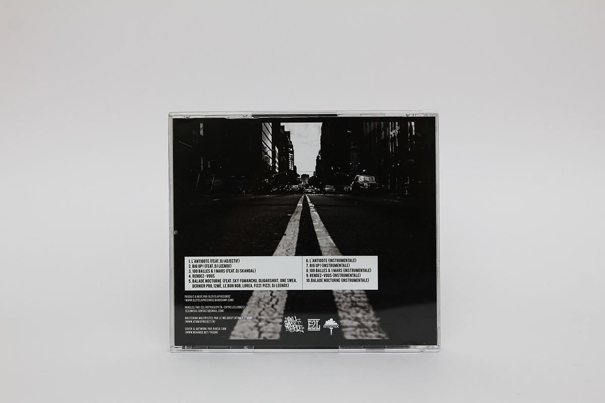 album cover LP cd