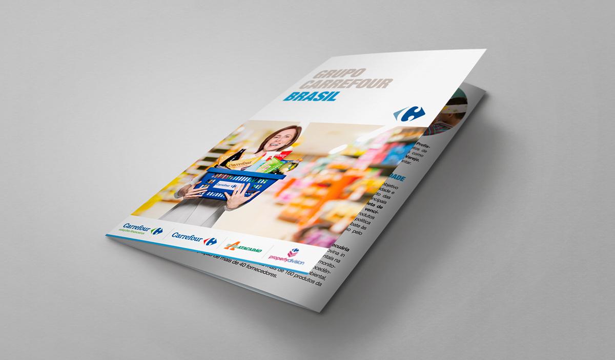 folder brochure Carrefour Grupo Carrefour