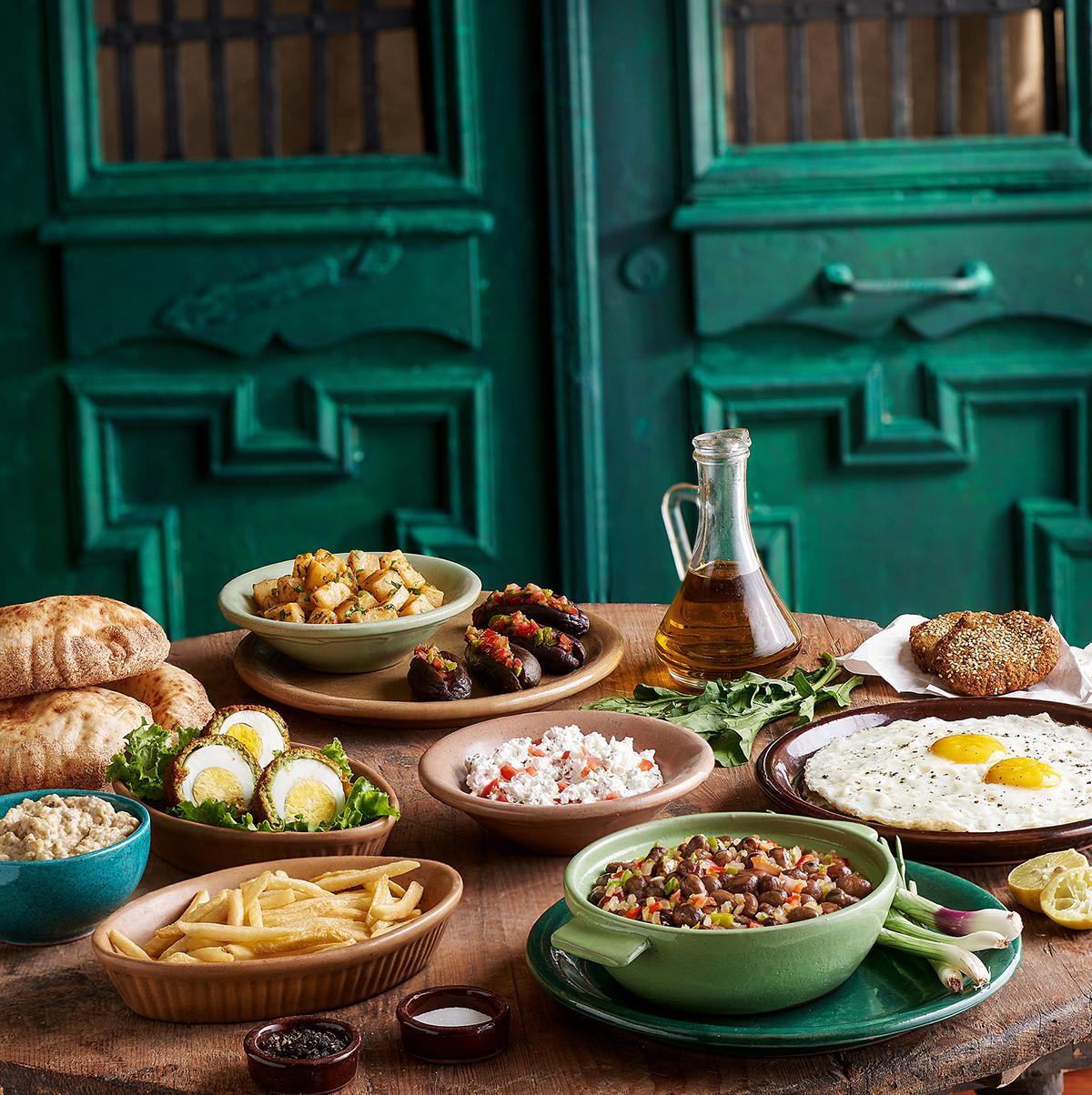 Baladina Egyptian Food On Behance