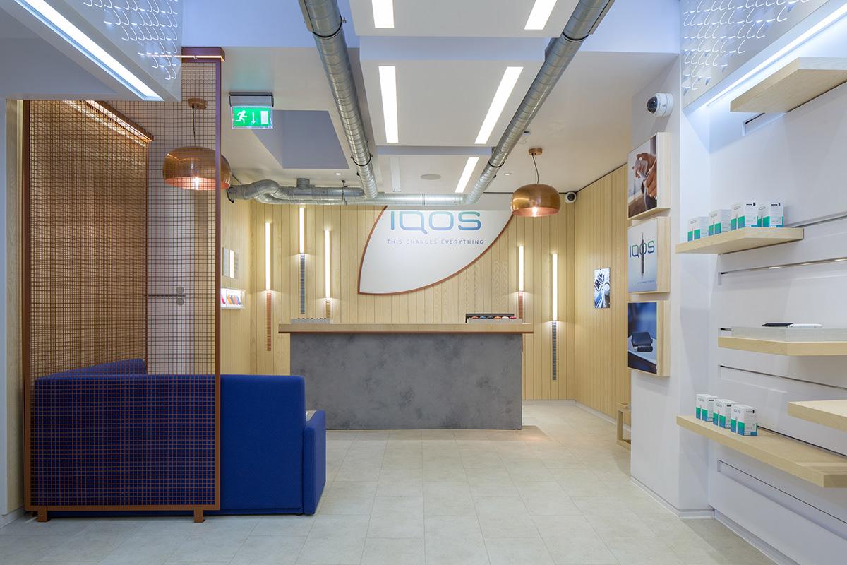 IQOS Store in Soho London on Behance