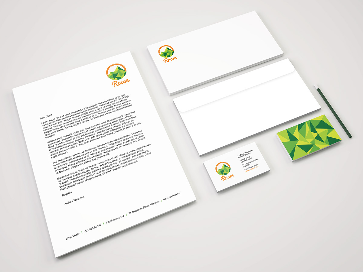 visual identity stationary app icons poster on behance